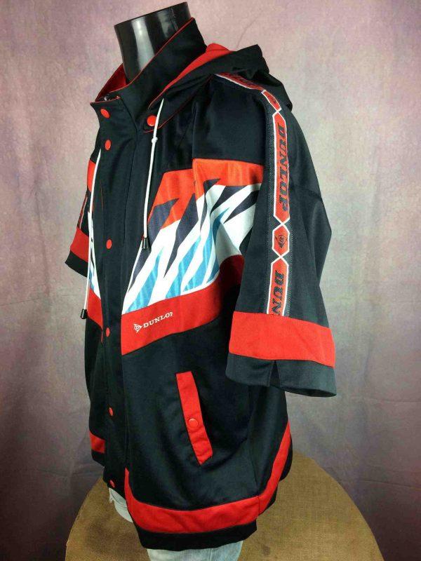 DUNLOP Jacket Shorts Sleeves Vintage 90s Gabba Vintage 4 scaled - DUNLOP Veste Shorts Sleeves Vintage 90s