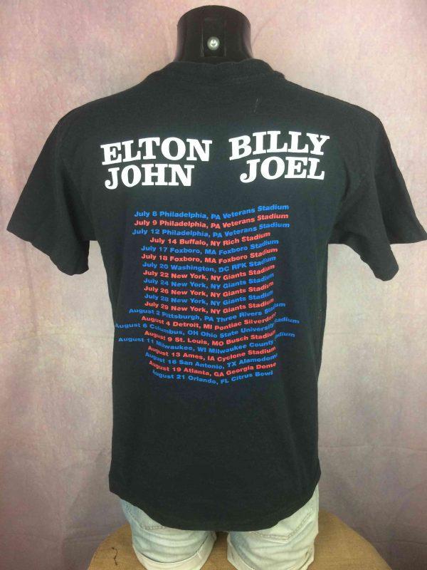 ELTON JOHN BILLY JOEL T Shirt US Tour 1994 Gabba Vintage 3 scaled - ELTON JOHN BILLY JOEL T-Shirt US Tour 1994