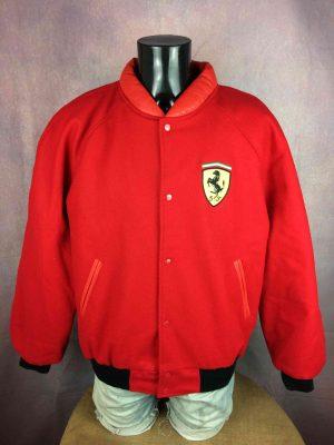 FERRARI Jacket Official Vintage 1996 Wool - Gabba Vintage