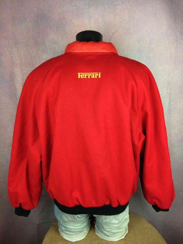 FERRARI Jacket Official Vintage 1996 Wool Gabba Vintage 4 scaled - FERRARI Jacket Official Vintage 1996 Wool