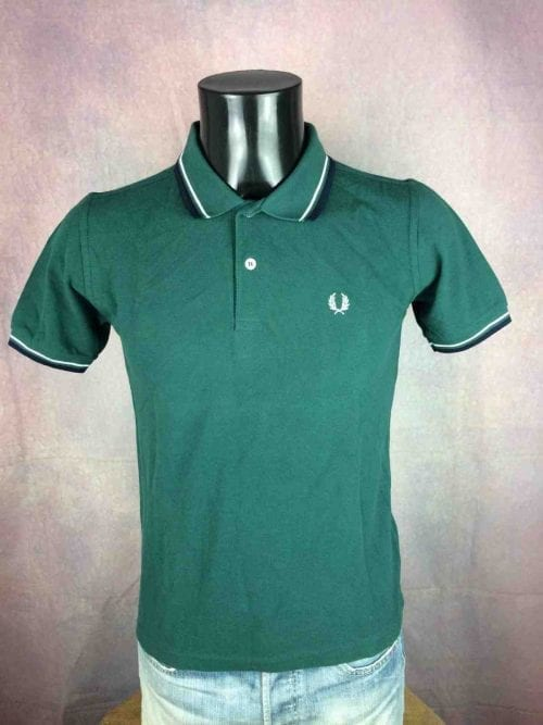 FRED PERRY Polo Slim Fit London England - Gabba Vintage