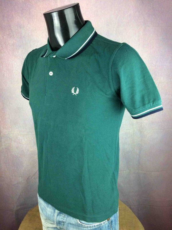FRED PERRY Polo Slim Fit London England Gabba Vintage 3 scaled - FRED PERRY Polo Slim Fit London England