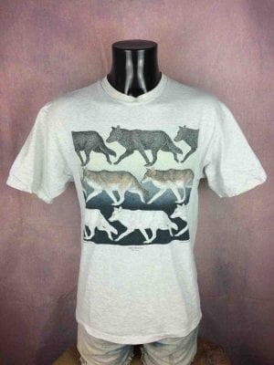 GRAY WOLVES T-Shirt Vintage 1993 D Dee Tyler - Gabba Vintage