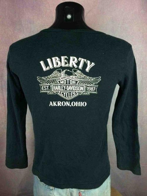 HARLEY DAVIDSON T-Shirt Liberty Vintage 1996 - Gabba Vintage