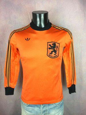 NETHERLANDS Maillot 1980 1981 Home Adidas - Gabba Vintage
