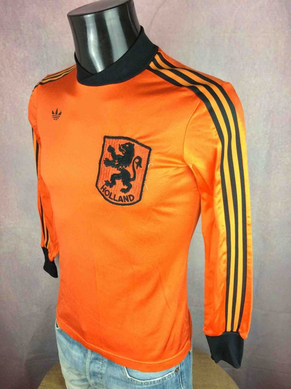 IMG 5681 compressed scaled - NETHERLANDS Maillot 1980 1981 Home Adidas