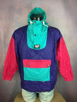 K WAY By K Way Impermeable Vintage 90s Color - Gabba Vintage