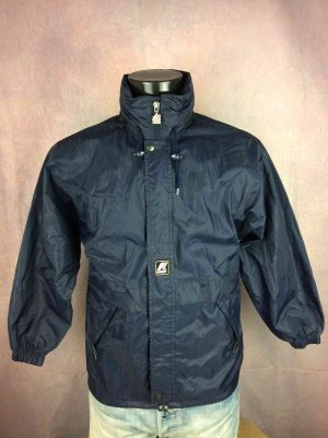 K WAY Impermeable True Vintage 90s Nylon - Gabba Vintage