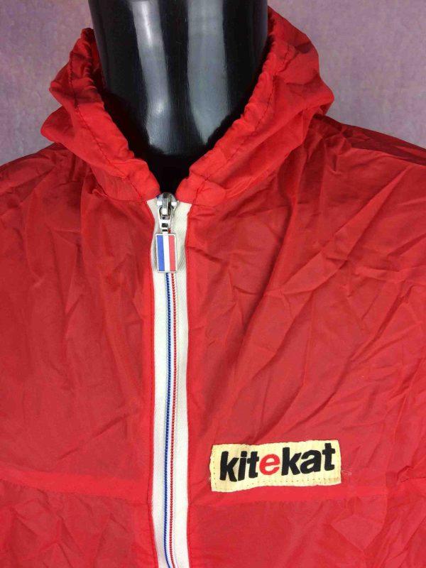 K WAY Veste Made in France VTG 80s Kitekat Gabba Vintage 4 scaled - K WAY Veste Made in France VTG 80s Kitekat