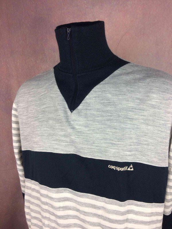 LE COQ SPORTIF Sweatshirt Vintage 80s France Gabba Vintage 4 scaled - LE COQ SPORTIF Sweatshirt Vintage 80s France