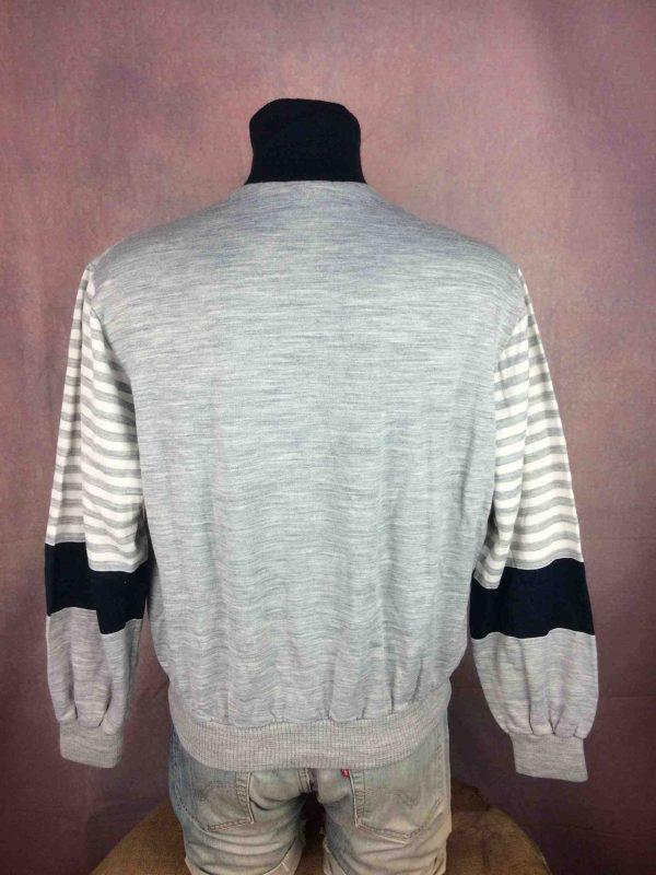 LE COQ SPORTIF Sweatshirt Vintage 80s France Gabba Vintage 5 scaled - LE COQ SPORTIF Sweatshirt Vintage 80s France