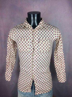 LE RENARD BLEU Chemise True Vintage 70s - Gabba Vintage