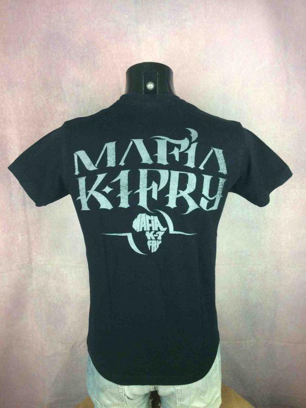 MAFIA K1 FRY T Shirt Official License 00s Gabba Vintage 5 scaled - MAFIA K1 FRY T-Shirt Vintage 00s Officiel