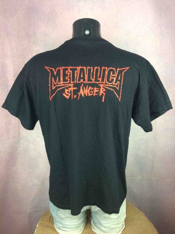 METALLICA T Shirt St Anger 2004 Official Gabba Vintage 1 scaled - METALLICA T-Shirt St Anger 2004 Official