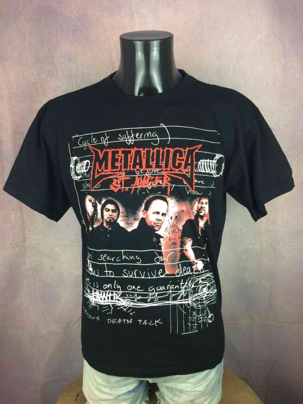 METALLICA T-Shirt St Anger 2004 Official - Gabba Vintage