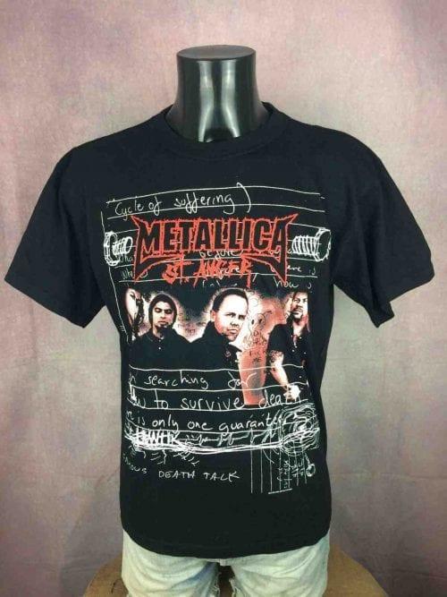 METALLICA T-Shirt St Anger 2004 Official - Gabba Vintage