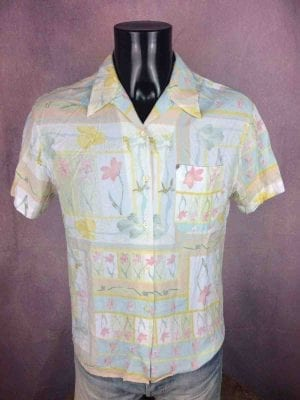 NEW MAN Chemise Made in France Vintage 80s - Gabba Vintage