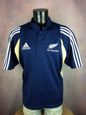 NEW ZEALAND ALL BLACKS Maillot Vintage 2004 - Gabba Vintage