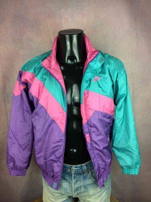 NIKE Jacket Vintage 90s Nylon Grey Tag - Gabba Vintage