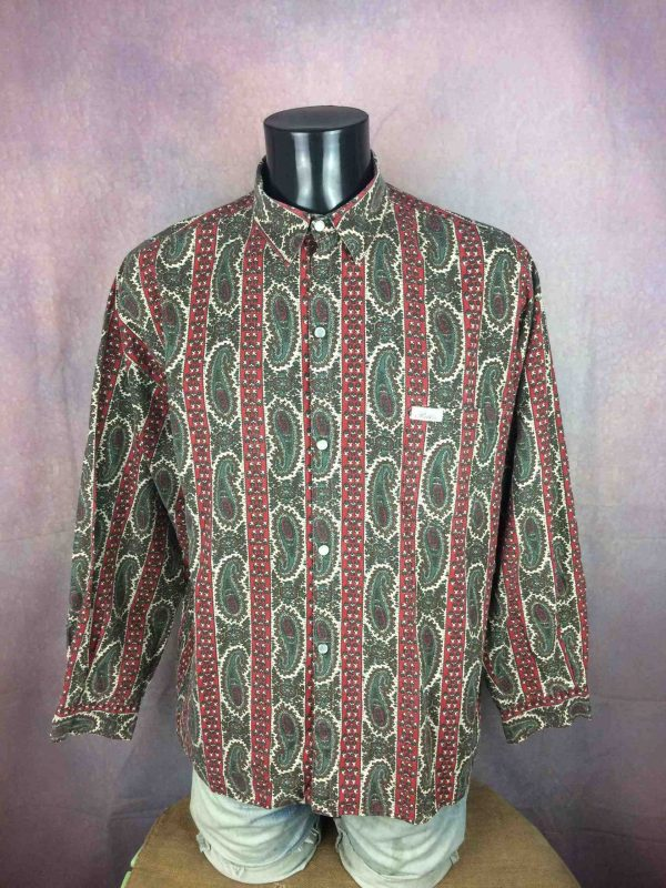 PATKO Chemise Made in France Vintage 80s - Gabba Vintage