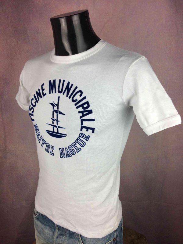 PISCINE MUNICIPALE T Shirt France VTG 80s Gabba Vintage 3 scaled - PISCINE MUNICIPALE T-Shirt France VTG 80s