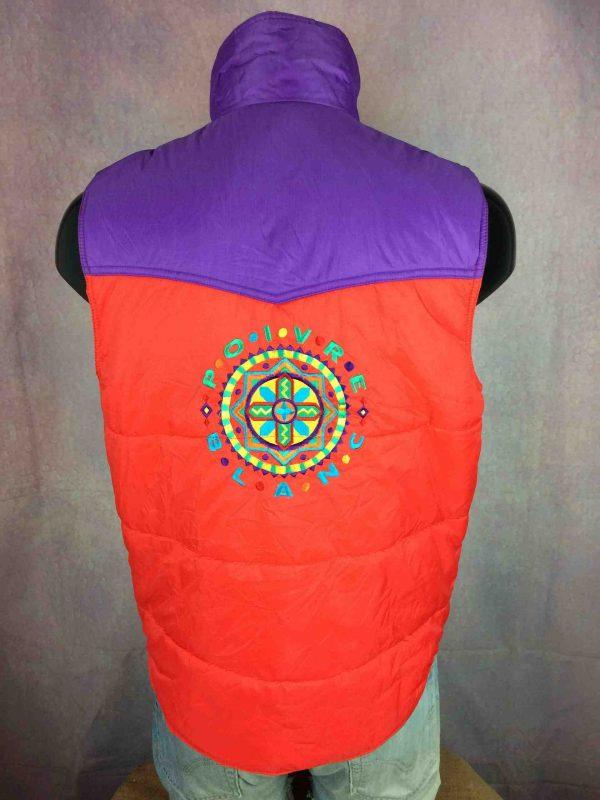 POIVRE BLANC Jacket Vintage 00s Ski Unisex Gabba Vintage 1 scaled - Veste Poivre Blanc Gilet Vintage Année 00 Ski
