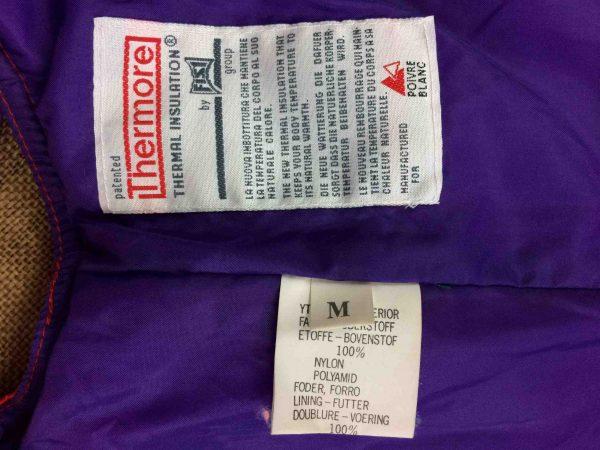 POIVRE BLANC Jacket Vintage 00s Ski Unisex Gabba Vintage 3 scaled - Veste Poivre Blanc Gilet Vintage Année 00 Ski