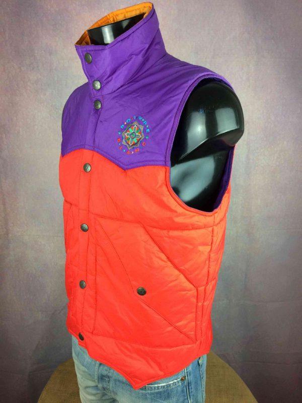 POIVRE BLANC Jacket Vintage 00s Ski Unisex Gabba Vintage 5 resultat - Veste Poivre Blanc Gilet Vintage Année 00 Ski