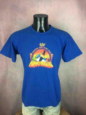 T-Shirt PUPPETMASTAZ , édition Creature Funk Super Stars, marque Gildan, Véritable vintage année 2003,Hip Hop Rap Legends