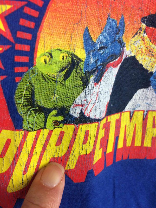 PUPPETMASTAZ T Shirt Creature Funk VTG 2003 Gabba Vint 3 compressed scaled - PUPPETMASTAZ T-Shirt Creature Funk VTG 2003