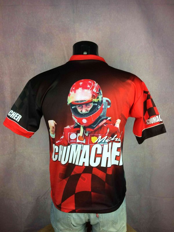 SCHUMACHER T Shirt Vintage 90s Made in Italy Gabba Vintage 1 scaled - SCHUMACHER T-Shirt Vintage 90s Made in Italy