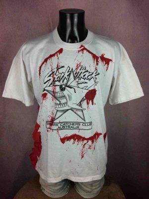 SHARK ATTACK T-Shirt Vintage 90s Australia - Gabba Vintage