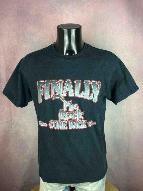 THE ROCK HAS COME BACK T-Shirt Vintage 90s - Gabba Vintage