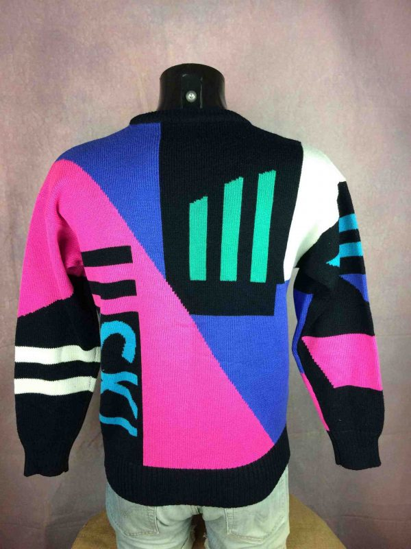 TYROLIA By Head Pullover Vintage 80 30 Wool Gabba Vintage 3 scaled - TYROLIA By Head Pull Vintage 80s Laine Ski