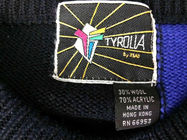 TYROLIA By Head Pullover Vintage 80 30 Wool Gabba Vintage 4 scaled - TYROLIA By Head Pullover Vintage 80 30% Wool