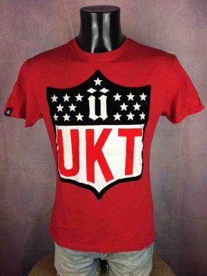 T-Shirt UNKUT, éditionAcademiks UKT, Année 2013, Visuel enFeutrine, Hip Hop Rap Paris