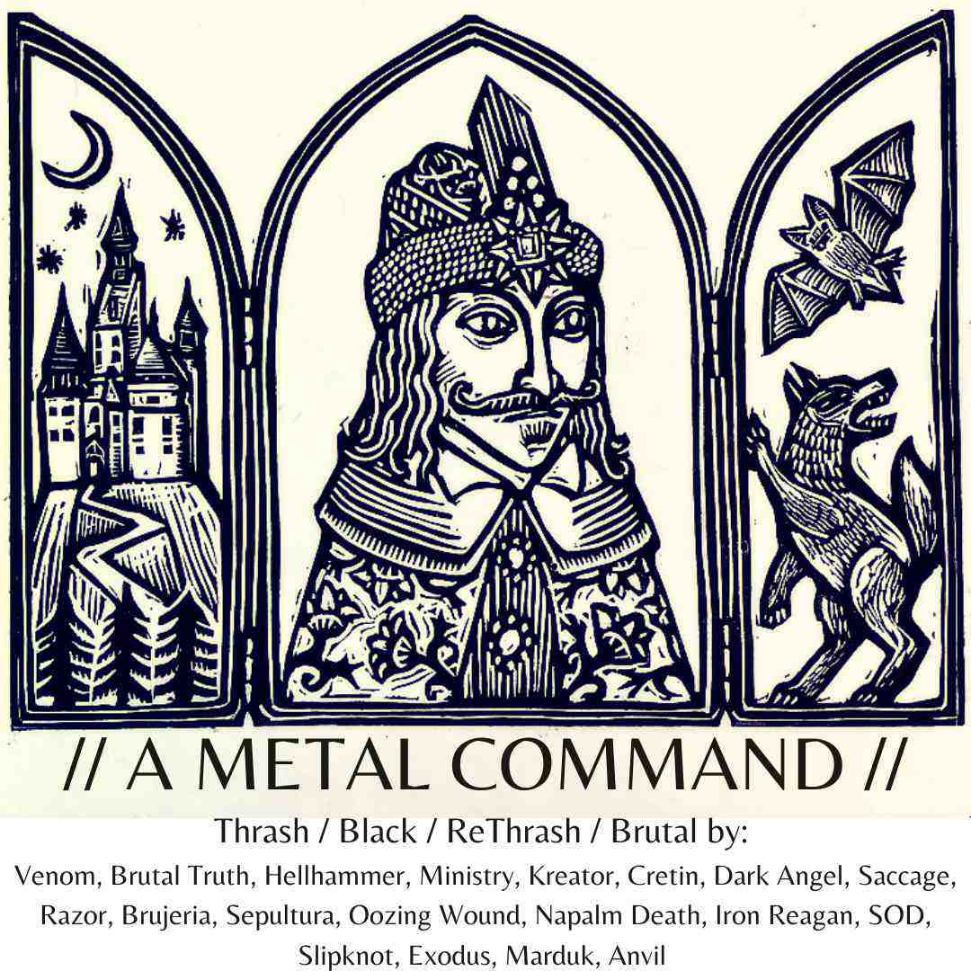 a metal command