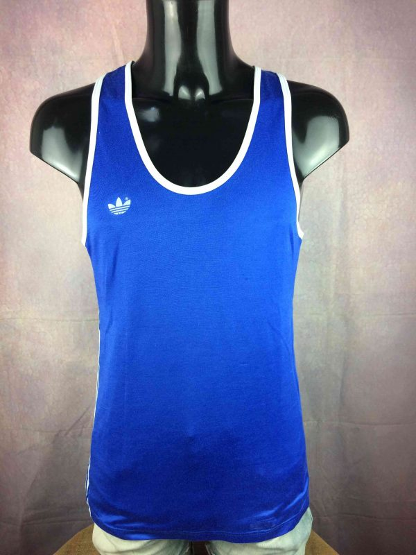 ADIDAS Maillot Vintage 80s Made in France - Gabba Vintage