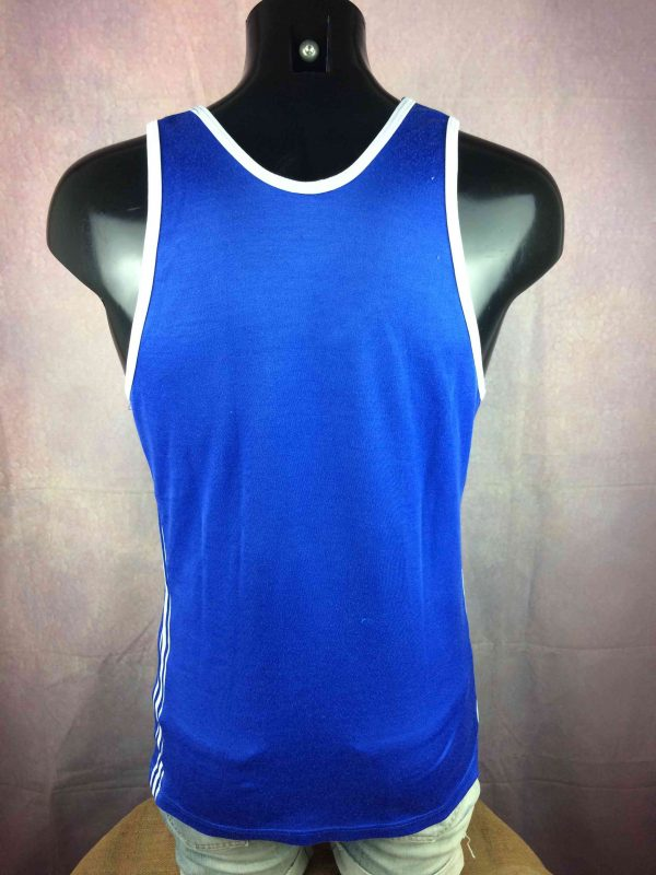 ADIDAS Maillot Vintage 80s Made in France Gabba Vintage 5 scaled - ADIDAS Maillot Vintage 80s Made in France