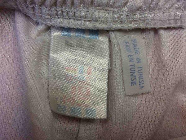 ADIDAS Shorts VTG 90s Made in Tunisia OM Gabba Vintage 2 scaled - ADIDAS Shorts Vintage Années 90 OM Football