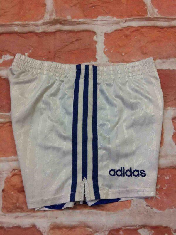 ADIDAS Shorts VTG 90s Made in Tunisia OM Gabba Vintage 6 scaled - ADIDAS Shorts Vintage Années 90 OM Football