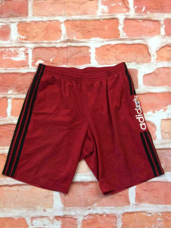 ADIDAS Shorts Vintage 90s Made in Tunisia Gabba Vintage 2 scaled - ADIDAS Shorts Vintage Années 90s 3 Stripes