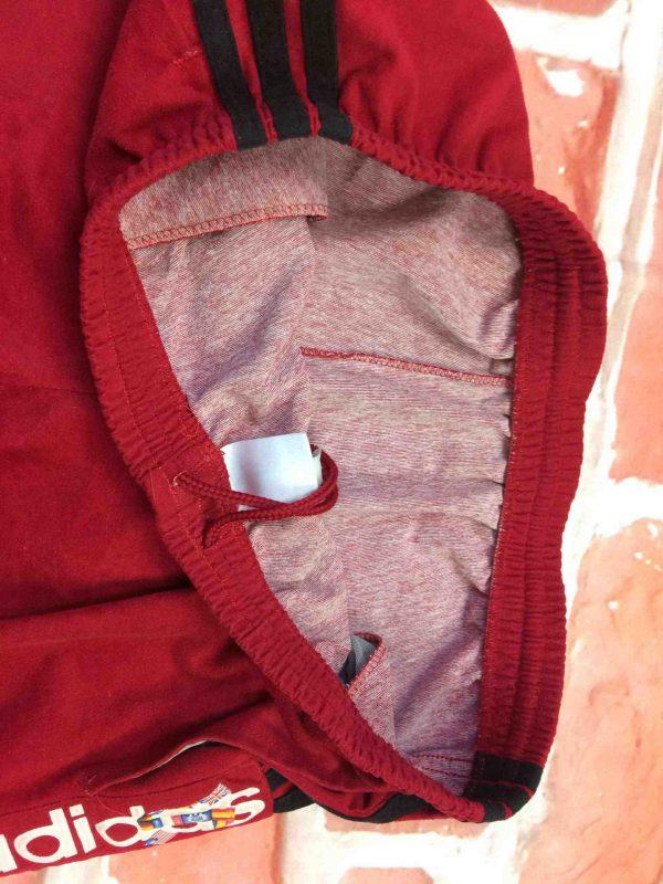 ADIDAS Shorts Vintage 90s Made in Tunisia Gabba Vintage 3 scaled - ADIDAS Shorts Vintage Années 90s 3 Stripes