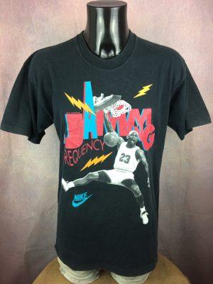 AIR JORDAN T-Shirt Nike Jamming Frequency 90 - Gabba Vintage