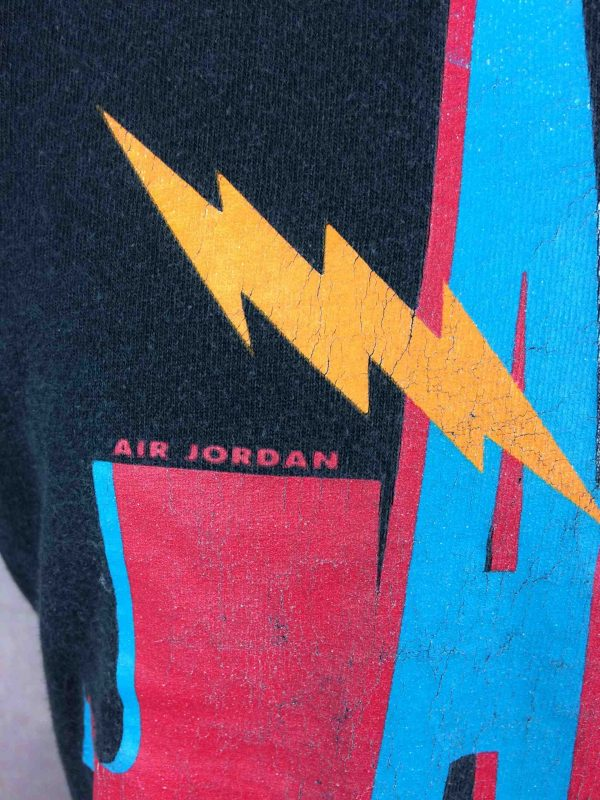 AIR JORDAN T Shirt Nike Jamming Frequency 90 Gabba Vintage 4 scaled - AIR JORDAN T-Shirt Nike Jamming Frequency 90s