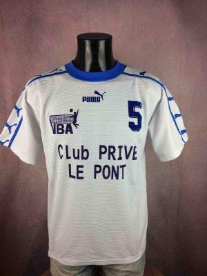 ARLES Maillot Vintage 90s Porté #5 Volley - Gabba Vintage