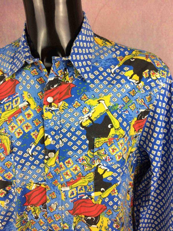 ATELIER DE LA RUE Chemise Avignon France 80s Gabba Vintage 3 scaled - ATELIER DE LA RUE Chemise Vintage 80s France