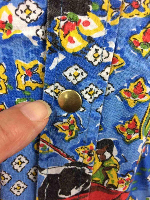 ATELIER DE LA RUE Chemise Avignon France 80s Gabba Vintage 4 scaled - ATELIER DE LA RUE Chemise Vintage 80s France