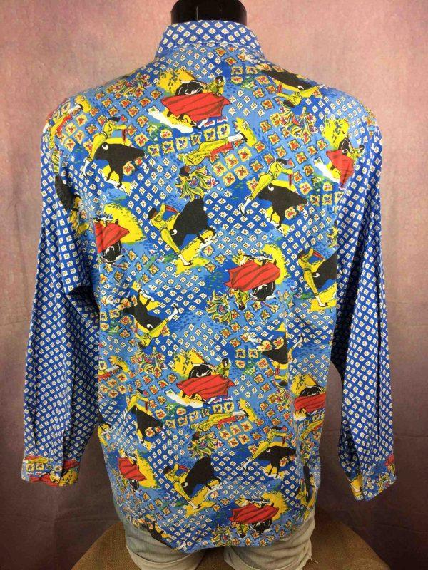 ATELIER DE LA RUE Chemise Avignon France 80s Gabba Vintage 6 scaled - ATELIER DE LA RUE Chemise Vintage 80s France