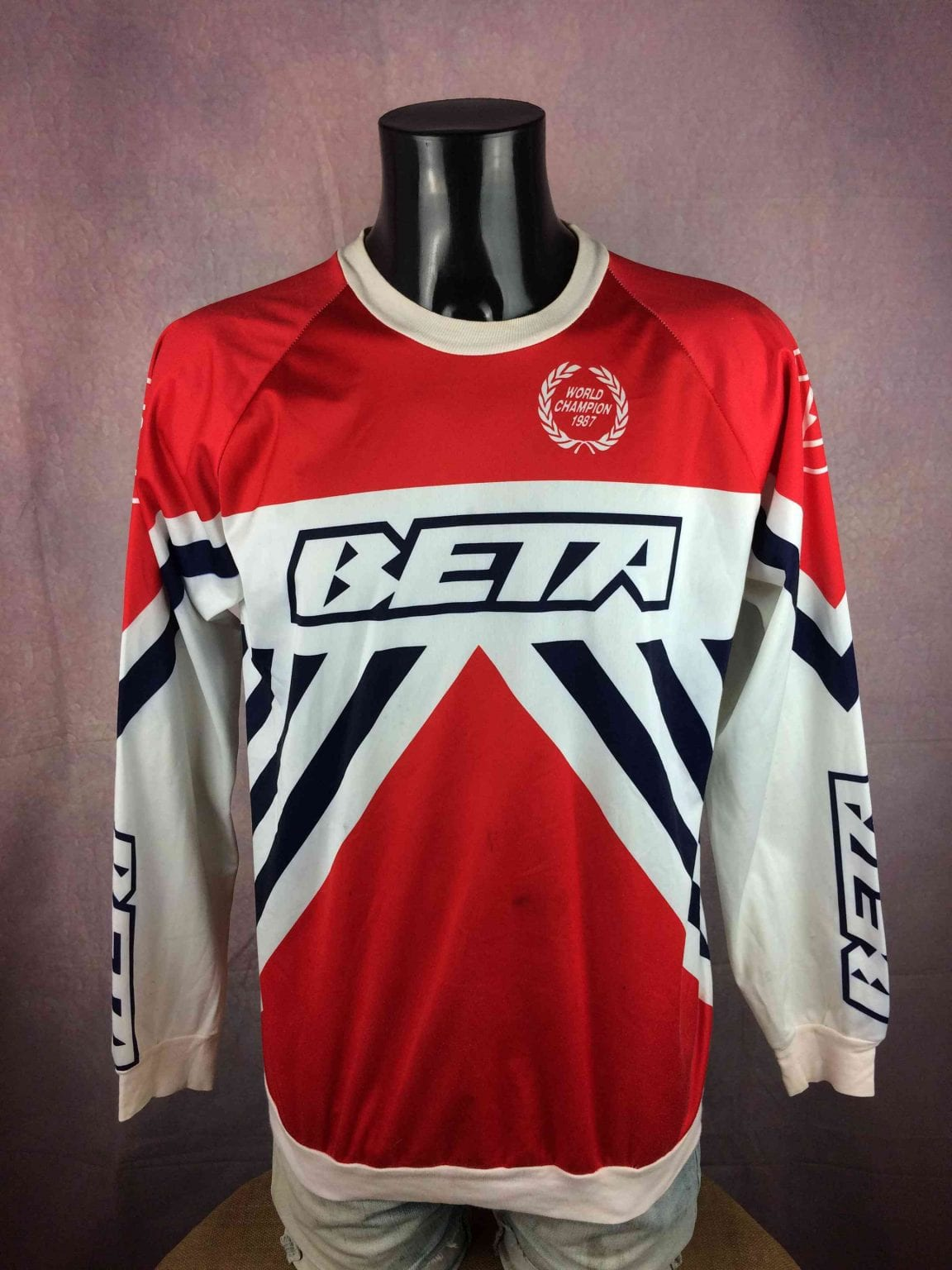 BETA Maillot World Champion 1987 Tarres VTG - Gabba Vintage